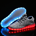 2017 Casual Basket Femme Sport Glowing Shoes LED Men Shoes Couple Fashion Luminous Lighted Shoe Tenis Feminino Trainers Big Size