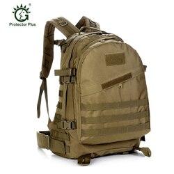 40L duża pojemność taktyczne Oxford męskie 3D atak szturmowy plecaki wysokiej jakości wojskowy styl armii kamuflaż torba podróżna
