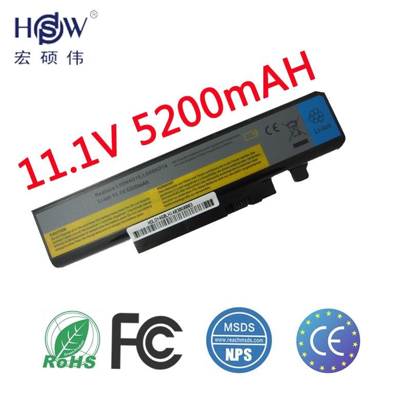 HSW סוללה למחשב נייד חדש עבור LENOVO L09N6D16 L10L6Y01 L10L6Y01 L10N6Y01 L10S6Y01 סוללה Y460 Y560 B560 V560 סוללה
