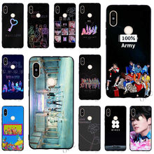 Slim BTS Bangtan Boys Phone Cover for Xiaomi Redmi 6 Case 4X 4A 5 Plus 5A Prime 6A Note 5 Pro Backshell(China)