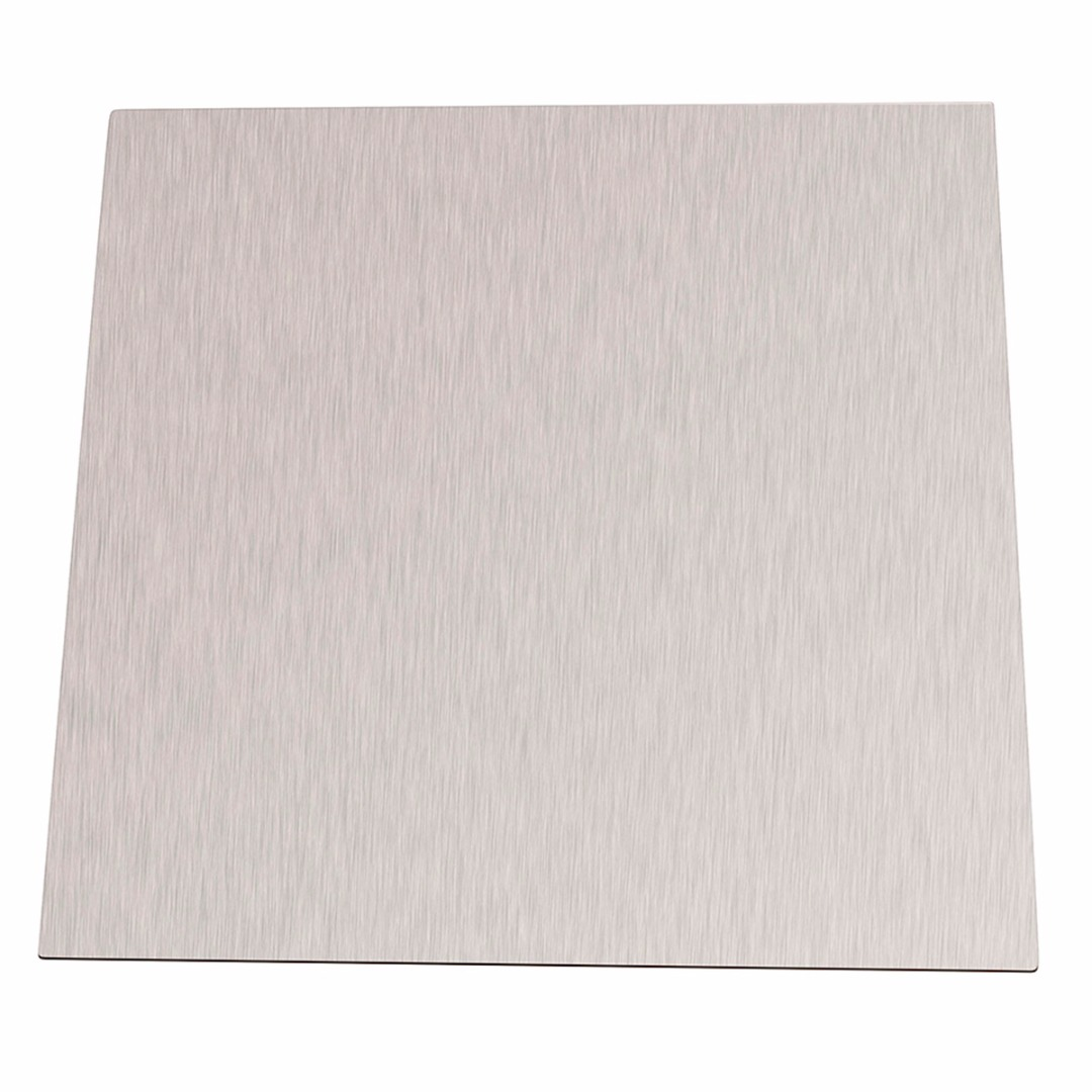 1pc 99.96% Pure 1mm Thickness Nickel Sheet Plate 100mm*100mm Silver For Electroplating 1sheet matte surface 3k 100% carbon fiber plate sheet 2mm thickness
