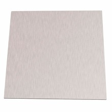 1pc 99.96% Pure 1mm Thickness Nickel Sheet Plate 100mm*100mm Silver For Electroplating