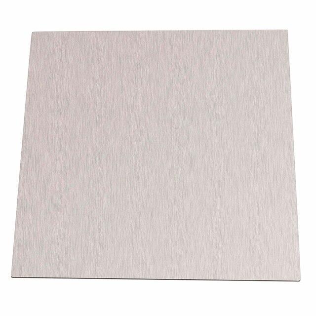 Prata pura da placa 99.96% mm * 100mm da folha do níquel da espessura de 1pc 100 para galvanoplastia