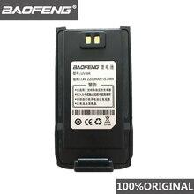 BaoFeng Walkie Talkie 100% Original, batería de ion de litio de 7,4 V y 2200mah para radio bidireccional Pofung UV 9R UV9R Woki toki