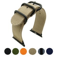 New Design Nylon Watchbands Watch Accessory Bracelet For Apple Band 42mm 38mm Series 1 & 2