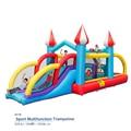 2017 новый надувной батут воздуха отказов дом с детьми двойной слайд Подпрыгивая Замок спорт многофункциональный playgound Завышенным
