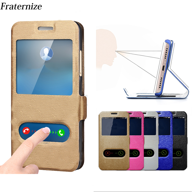Flip View Window Leather Case For Lenovo K3 A6000 K5 K6 K8 Note K5 Plus K6 Power X2 X3 K80 P1 A916 K920 A808 Zuk Z2 Stand Cover