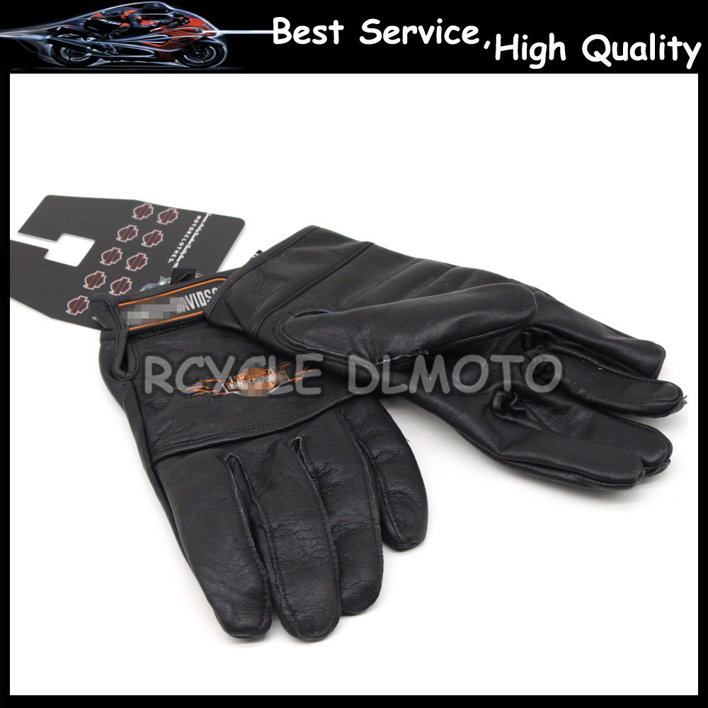 Leather motorcycle gloves best - Best 2016 Hot Sale For Harley Motorcyclists Leather Gloves Long Section Of Men S Leather Motorcycle Gloves