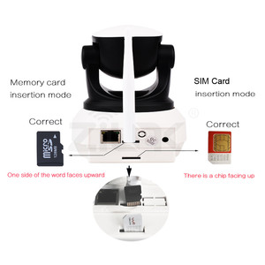 Image 4 - Wifi Camera 4G 3G Sim Card 1080P 720P HD Network Video Wireless IP Camera GSM Security Baby Surveillance Camera APP Control