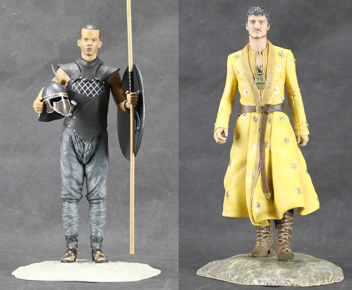 HBO TV Series TV Series Game of Thrones Grey Worm Oberyn Martell Dark Horse Deluxe 23cm Figure Figurine набор принадлежностей bosch x line 50 50 предметов [2607019327]