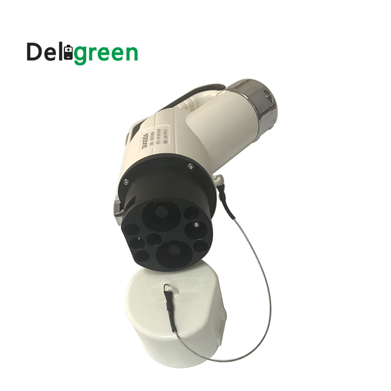 750V  250A/80A/125A/200A DC Male EV Plug IP55 Electric Vehicle Connectors for EVSE Charging  Without cable
