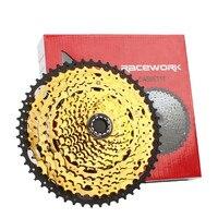 Mountain Bike Freewheel 10Speed/42/46/50T 11S/46/50/52T MTB Cassette Flywheel Sprocket Compatible with Sunrace