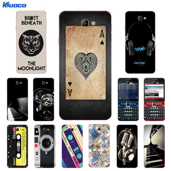 for Soft TPU Cover for Samsung Galaxy J7 Prime/On7 2016/G610 Case Silicone Life Printing for Galaxy On7 2016 G610
