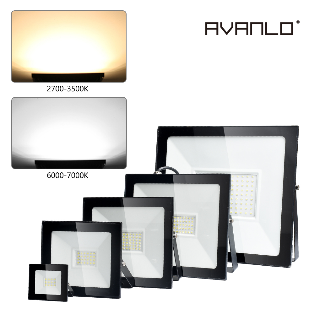 Flood Light <font><b>Led</b></font> 100W 10W 50W <font><b>20W</b></font> 30W AC190-265V Waterproof IP66 <font><b>Led</b></font> <font><b>Floodlight</b></font> Spotlight <font><b>Led</b></font> Street Outdoor Lighting <font><b>LED</b></font> Lamp image