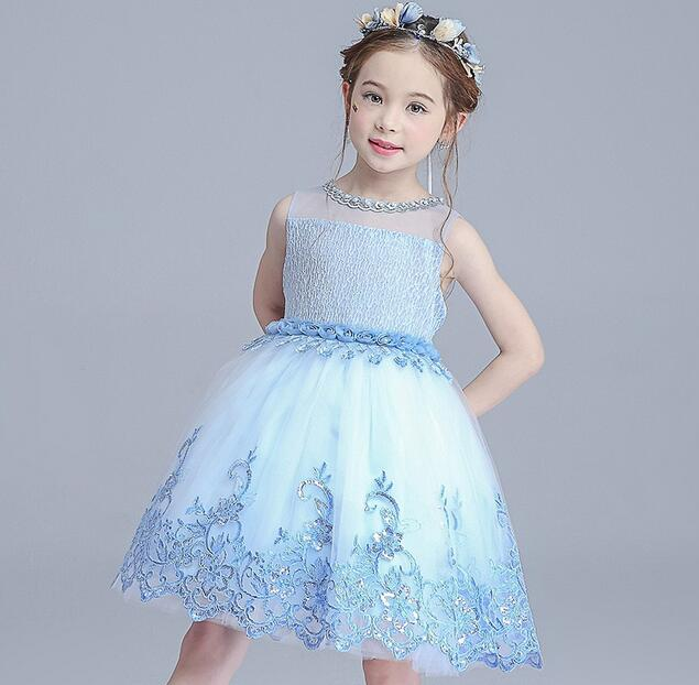 Girls Dresses Summer Tutu Princess Baby Flower Costume Lace Tulle Baby Casual Party Dress For 3-12 Years Kids Dresses For Girls princess girls summer dresses elegant girl lace tutu vestidos with waistcoat kids party costume casual children dress age 2 12y