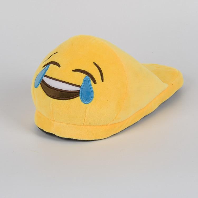 DADIJIER Emoji Casa Pantofole da Donna pantofole di Cotone