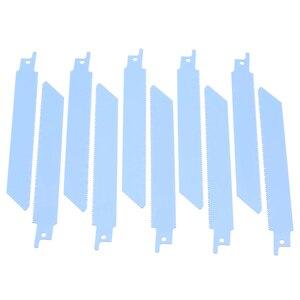 """Image 5 - 10 Stuks 150 Mm 6 """"Vergeldende Sabre Zaagbladen Blauw Hoge Kwaliteit S922BF Zaagbladen Voor Metaal Snijden"""