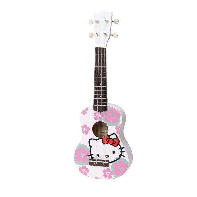 3145 Imagen Clásica De Dibujos Animados Los Niños 21 Pulgadas Hawaii Pequeña Guitarra Iluminación Música Excelente Ukulele Múltiple