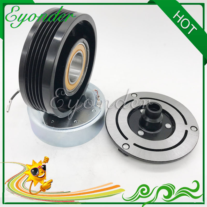 Auto AC A C Cooling Compressor Pump Magnetic Clutch Assembly Pulley Coil for BMW 3 Series