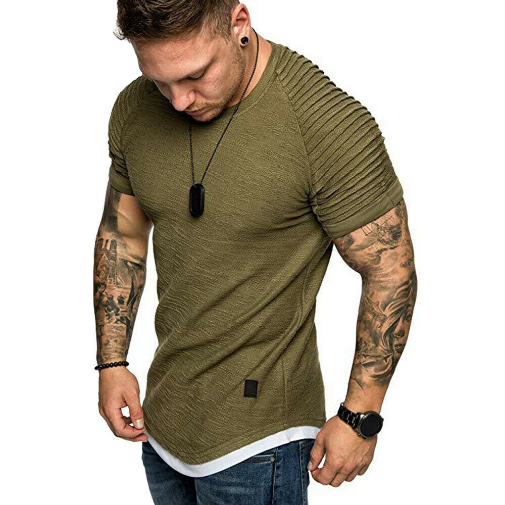 Mens Polo Shirt Casual Summer Short Sleeve Tee Male Novelty Loose Fit Tops Streetwear