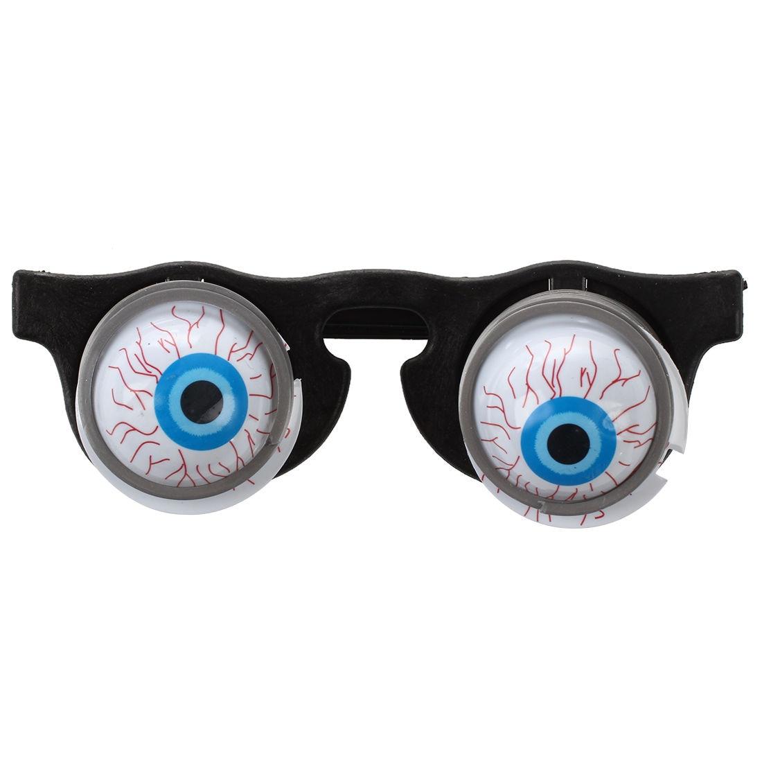 Горячая распродажа хэллоуин карнавал вечерние Пластик шутка ужасы шок поп глаза очки игрушка ...