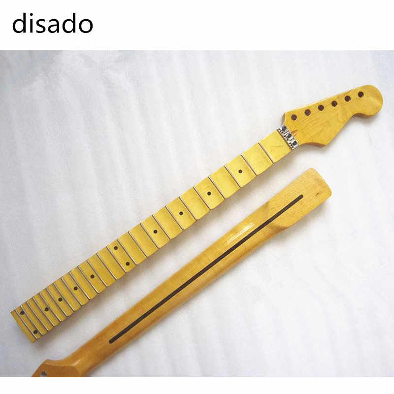 Disado 21 22 24 Bünde ahorn Elektrische Gitarre Hals ahorn scallop griffbrett Gitarre zubehör Teile musical instruments