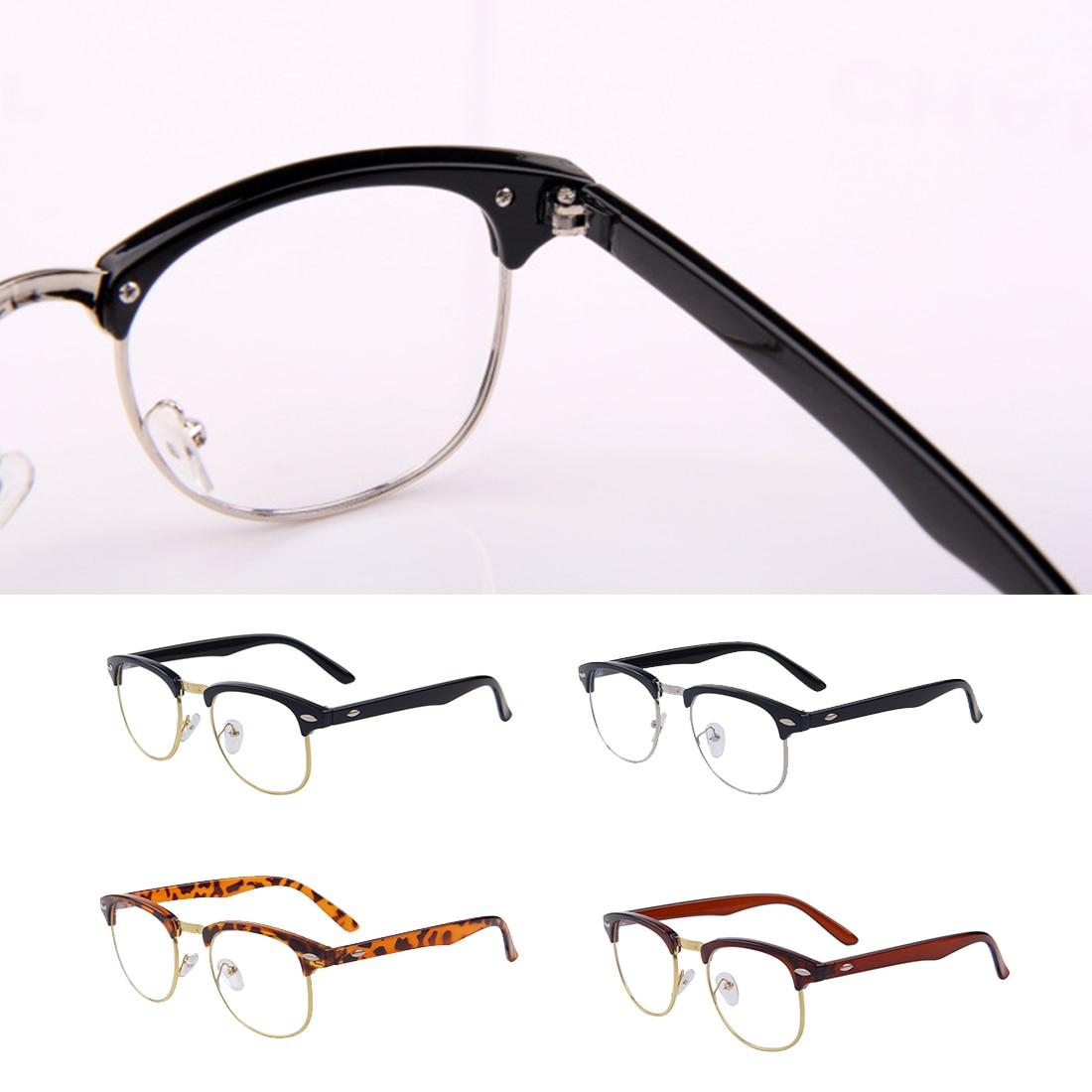 Klassische Klare Linse Nerd Rahmen Gläser Mode Entworfen Männer ...