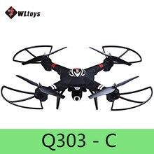 Оригинальный holicopter WLtoys Q303-C 2.4 ГГц 4CH 6 оси гироскопа фиксированная высота режим rc горючего RTF самолета С 2.0MP Камера