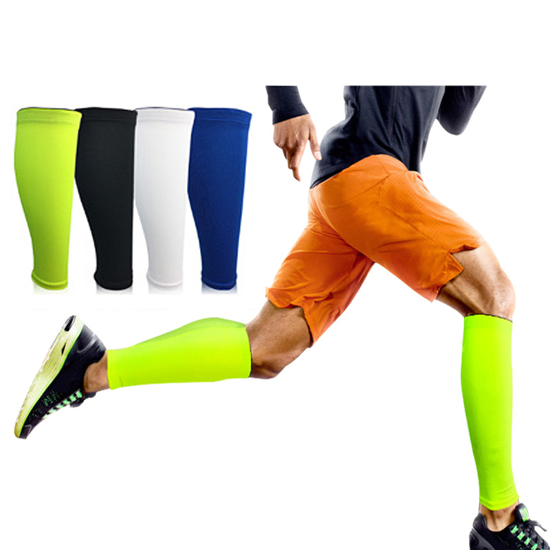 Sport Calf Support Compression Leg Sleeve Running Cycling Football Socks Shin Splint Outdoor Knee Pad Brace Wrap Protector