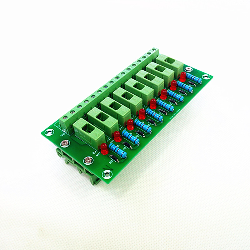 Fuse Module,8 Position Fuse Panel Mount Power Distribution  Module Board. vyb20w q24 s5 h power supplies board mount mr li