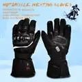 Спаситель мотоцикл с подогревом перчатки для верховой езды гоночный мотоцикл зима на открытом воздухе спортивная батарея Электрическое от...