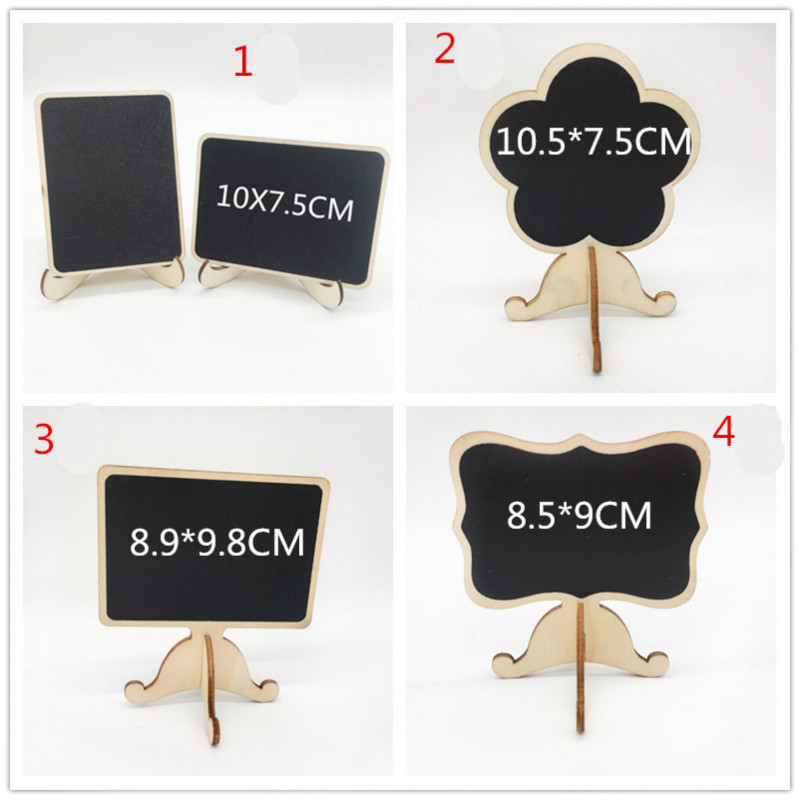2pcs Chalkboards Place Card for Wedding Birthday Party Labels Table Bridal Shower Wedding Party Paper Hang Tags DIY Party Decor image