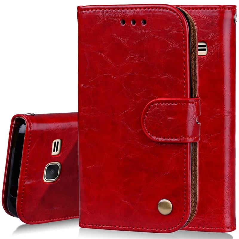 Case For Samsung J1 mini Wallet Flip Leather Case For Samsung Galaxy J1 mini (2016) / Galaxy J1 Nxt J105 Cover Fundas Phone bags
