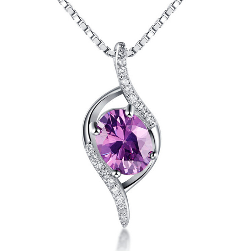 Elegant Silver Pendant 100% Real 925 Sterling Silver Pendant Jewelry YH4358