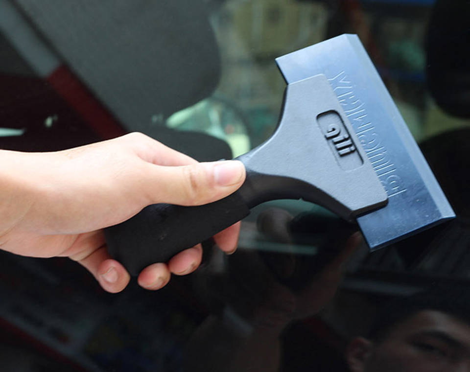 Image 5 - Imported Pro Power Squeegee Aluminum handle dichotomanthes scraper with Blue Max Rubber blades QH 01T-in Car Stickers from Automobiles & Motorcycles