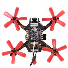 1pc DIY Assembly Part Drone 100mm Brushless FPV Racing Quadcopter Drone Toy With HD Camera 2.4Ghz Helicopter without Receiver