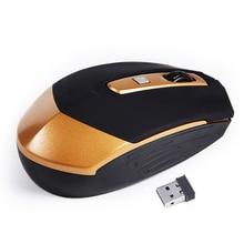 Ratón óptico Inalámbrico Ratones de juego 4 Botones Del Ratón USB raton inalambrico 2.4G Mini Receptor del Ratón Del Ordenador