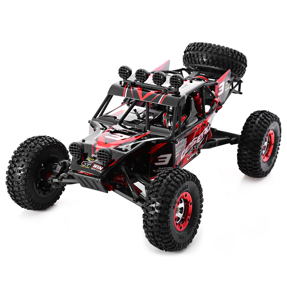 Kidstime FEIYUE-03 Radio Control RC Car 4WD 1/12 2.4GHz Desert RC Off-Road Car Full Scale Remote Control Car Monster Truck Toys