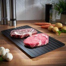 Доска для размораживания лоток для быстрого размораживания замороженные продукты, мясо и фрукты доска для быстрого размораживания кухонные принадлежности