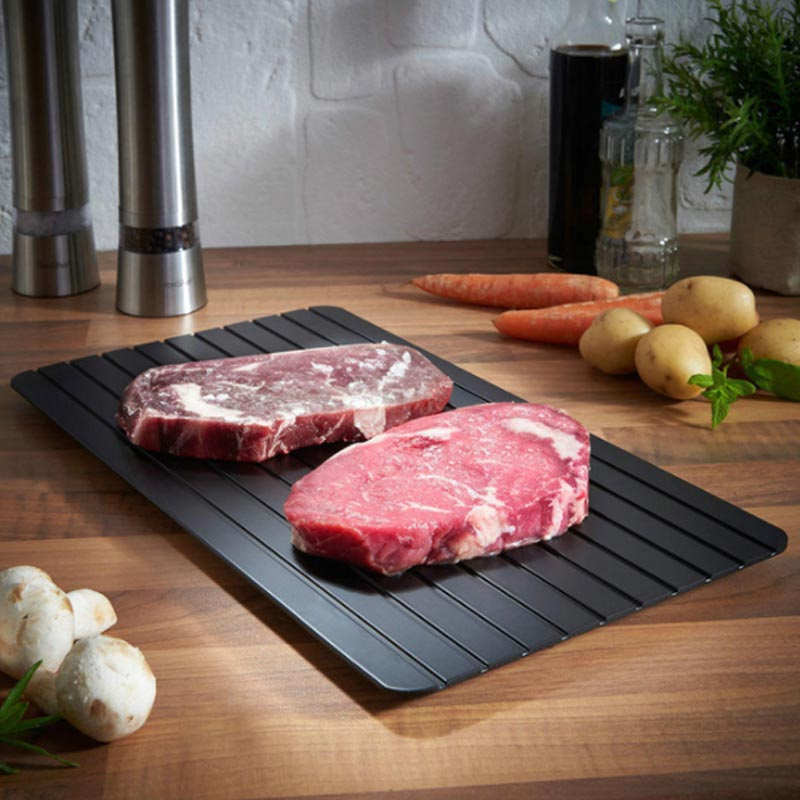 Thawing Board Quick Defrosting Tray Defrosting Frozen Food, Meat And Fruit Quick Defrosting Board Defrosting Kitchen Utensils image