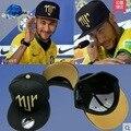 Neymar NJR Brasil Brasil gorra de béisbol bboy verano Snapback hip hop Caps hueso aba reta gorras gorras sombrero Chapeau