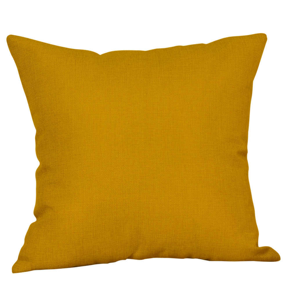 2018 HOT!Mustard Pillow Case Yellow Geometric Fall Autumn Cushion Cover  Decorative Drop Shipping 2030