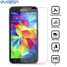 Premium S5 Mini Tempered Glass Film LCD Guard Explosion Proof Screen Protector for Samsung Galaxy S5 Mini G800 Protective Film pudini protective clear screen protector film guard for samsung galaxy express i8730 transparent