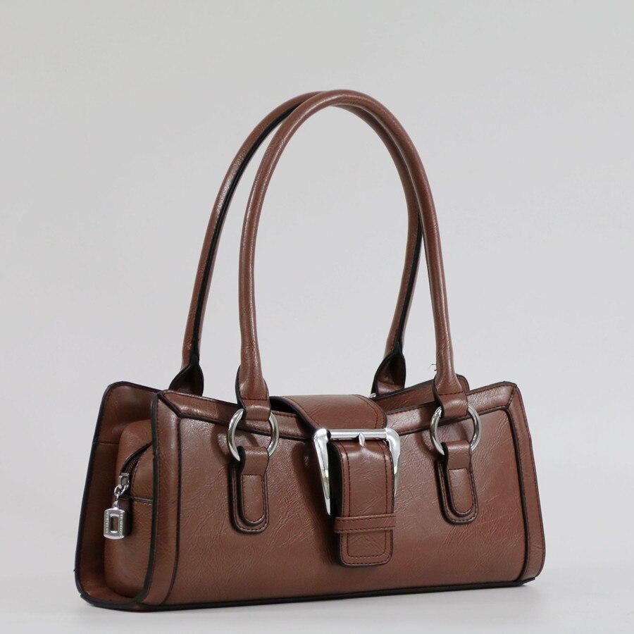 Bolsas de Couro Bolsa de Ombro Designer de Luxo Bolsa de Moda Simples Bolsa Feminina Feminino Retro Marca Grande