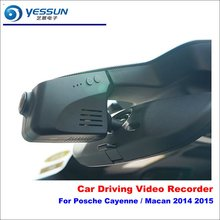 YESSUN Car DVR Driving Video Recorder For Posche Cayenne / Macan 2014 2015 Front Camera AUTO Dash Cam - Head Up Plug Play OEM
