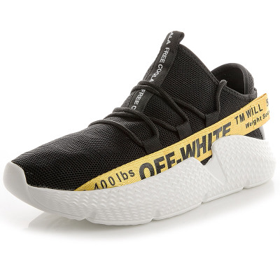 Respirant Et Black Hommes Chaussures white 2018 yellow Confortable pure Mode White Souple Aq7XwXd
