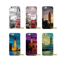 London Red Bus and Big Ben Soft Silicone phone Case For Samsung Galaxy A3 A5 A7 J1 J2 J3 J5 J7 2015 2016 2017(China)
