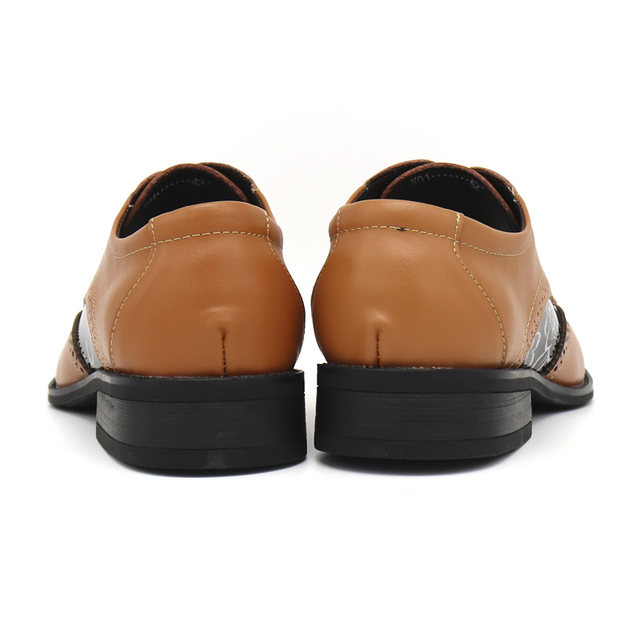 Bimuduiyu Lace Up Designer Luxury Men Shoes Fashion Pu Leather Dress Pointed Toe Bullock Oxfords Wedding Office