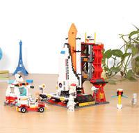 GUDI 8815 679Pcs Star Wars Space War The Shuttle Launch Center Model Building Block Bricks Toys