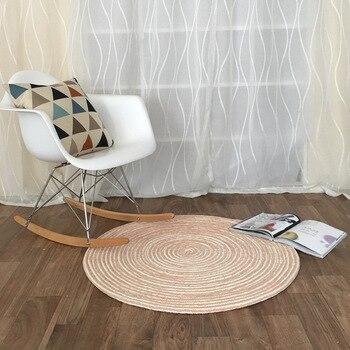 вязаные круглые ковры ручной работы для гостиной компьютерное